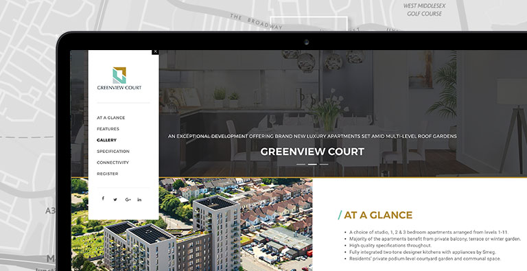 Properties for sale in Greenview Court Southall UB2